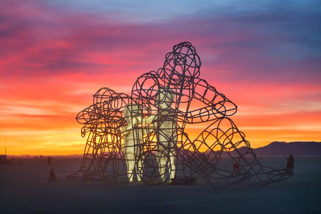 love at burning man